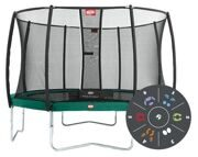 Батут Berg Favorit Tattoo + Safety Net Deluxe 430